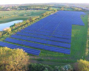 Cranham Solar Park Home to 100 Sheep
