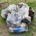 Cranham Councillors do 'litter pick' in Cranham Brickfields